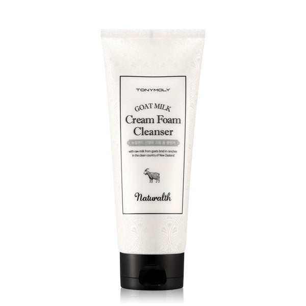 Tony Moly - Naturalth Goat Milk Cream Foam Cleanser 200ml