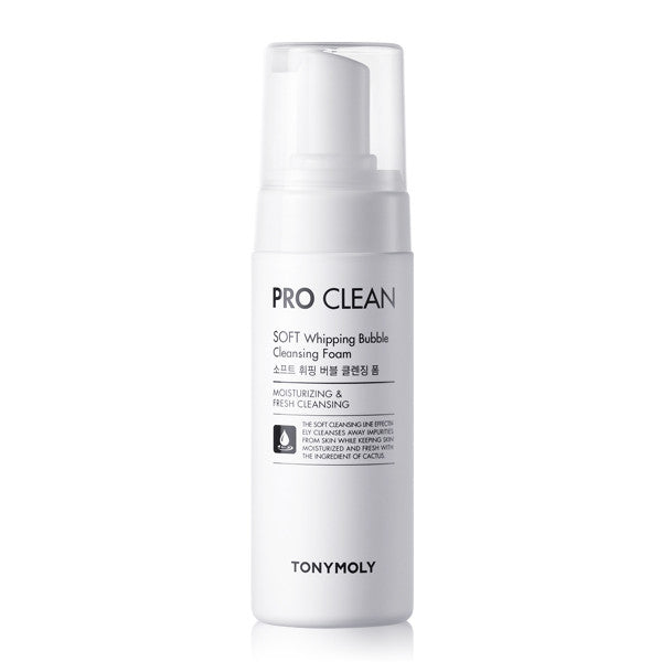 Tony Moly - Pro Clean Soft Whipping Bubble Cleansing Foam 150ml