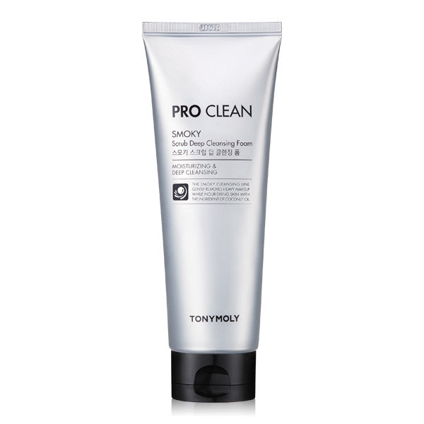 Tony Moly - Pro Clean Smoky Scrub Deep Cleansing Foam 150ml