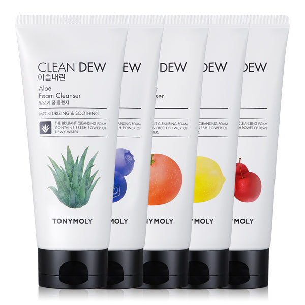 Tonymoly - Clean Dew Foam Cleanser 180ml