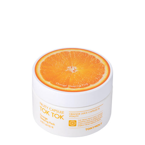 Tony Moly - Fruity Capsule Toffee Orange Sleeping Pack 80ml