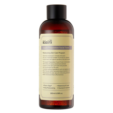 Klairs - Supple Preparation Facial Toner 180ml