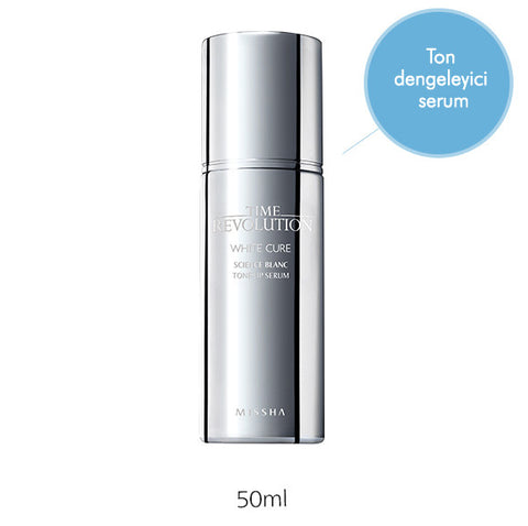 Missha - Time Revolution White Cure Science Blanc Tone Up Serum 50ml