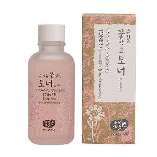 Whamisa - Organic Flowers Essence Toner - Deep Rich 120ml