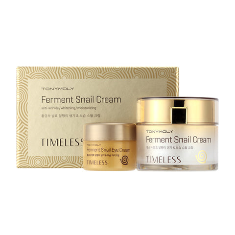 Tony Moly - Timeless Ferment Snail Cream 50Ml + Eye Cream