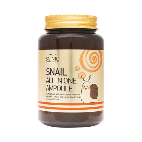 Scinic - Snail All In One Ampoule 250ml