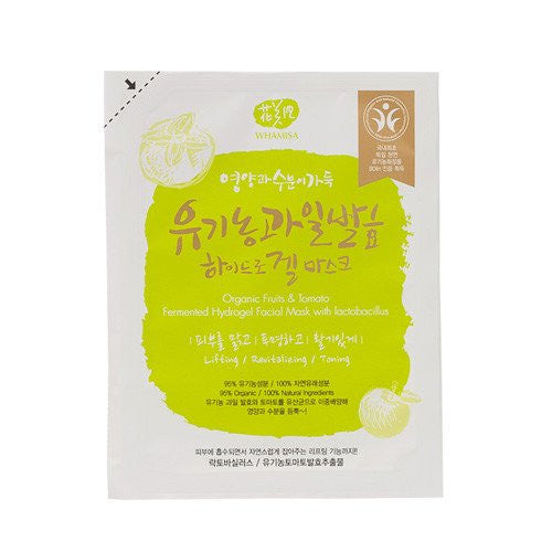 Whamisa - Organic Fruits & Tomato Fermented Hydrogel Sheet Mask 33g