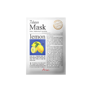 Ariul - 7Days Mask-Lemon 20gr
