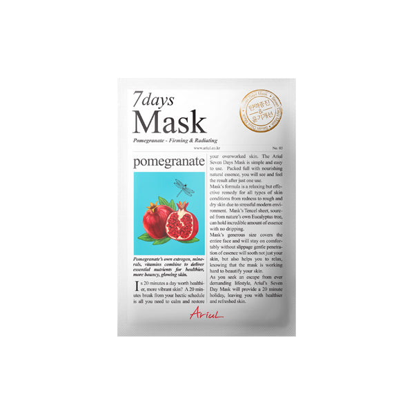 Ariul - 7Days Mask-Pomegranate 20gr