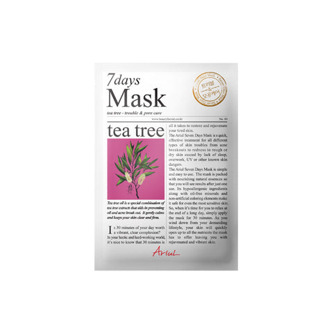Ariul - 7Days Mask-Tea Tree 20gr