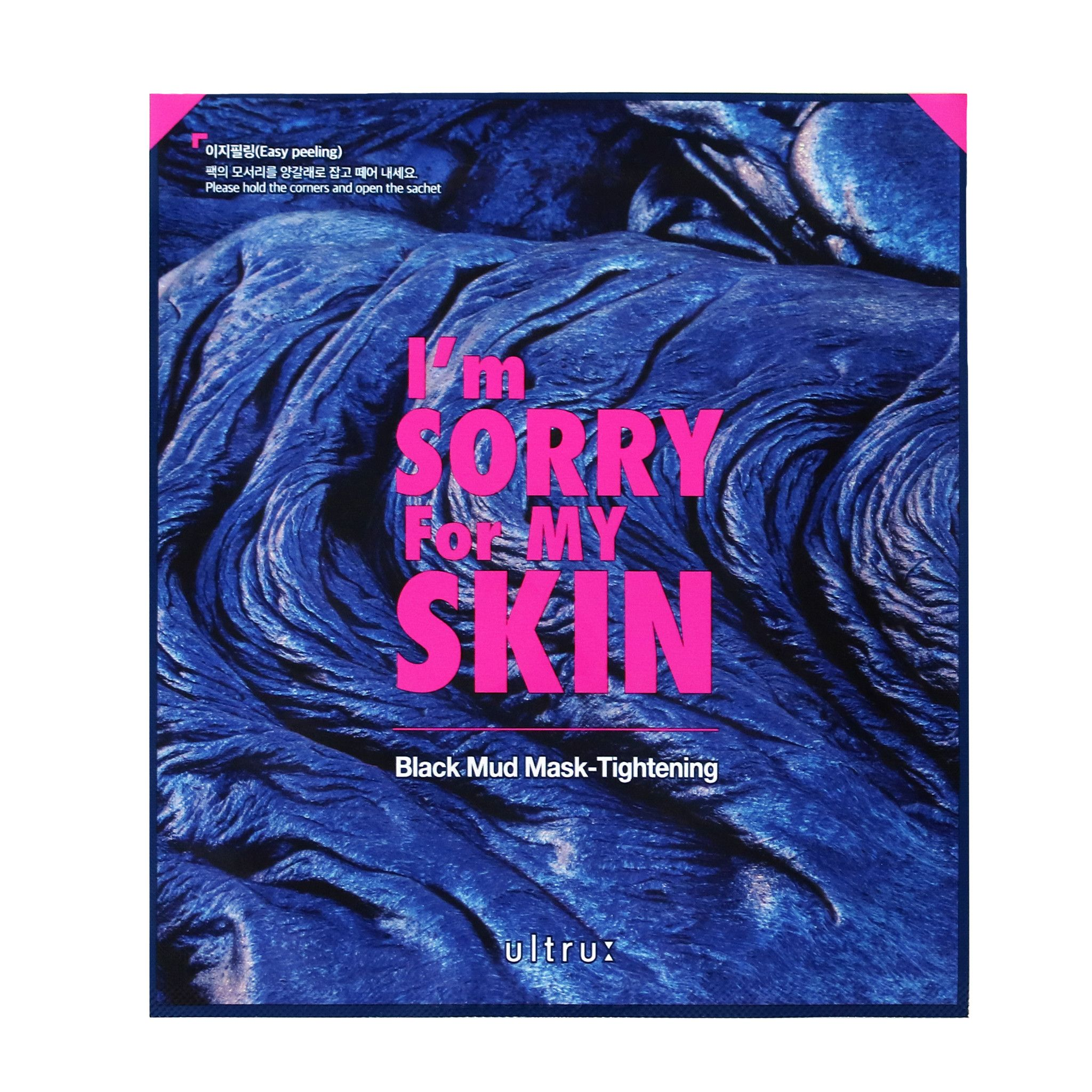 I'M Sorry For My Skin - Black Mud Mask - Tightening 18gr