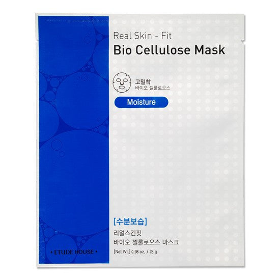 Etude House - Real Skin Fit Bio Cellulous Mask 3'lü (3x28ml)