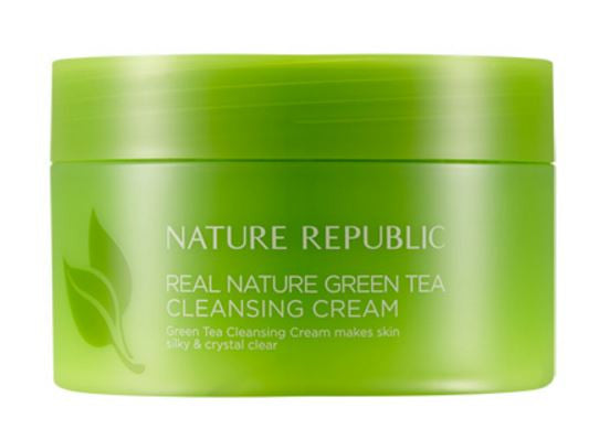 Real Nature Green Tea Cleansing Cream
