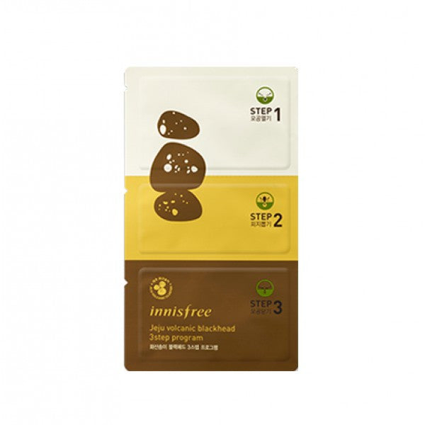 Innisfree - Jeju Volcanic Blackhead 3 Step Program  x 4ad