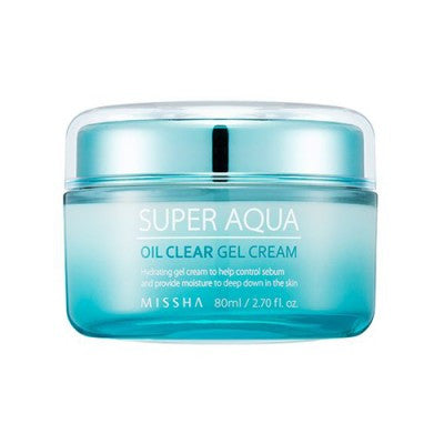 Missha - Super Aqua Oil Clear Gel Cream 80ml