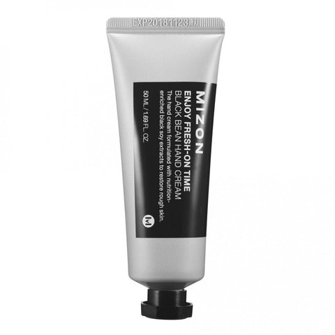 Mizon - Enjoy Fresh-On Time Black Been Hand Cream 50ml