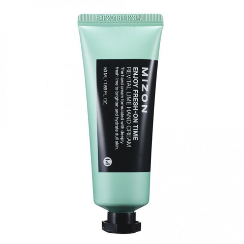 Mizon - Enjoy Fresh-On Time Revital Lime Hand Cream 50ml