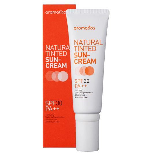 Aromatica - Natural Tinted Sun-Cream 50ml