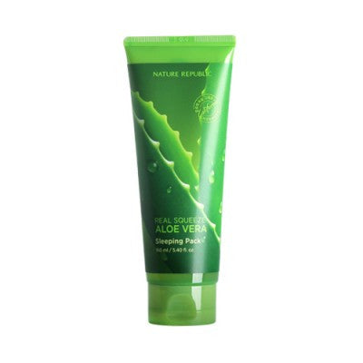 Nature Republic – Real Squeeze Aloe Vera Sleeping Pack 160ml