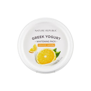 Nature Republic - Greek Yogurt Whitening Pack (Orange) - 130ml