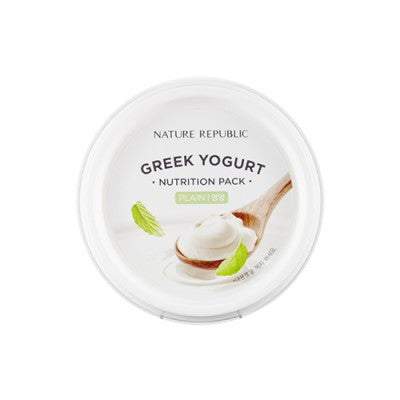 Nature Republic - Greek Yogurt Nutrition Pack (Plain) - 130ml