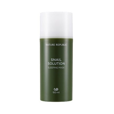 Nature Republic - Snail Solution Sleeping Mask 100ml