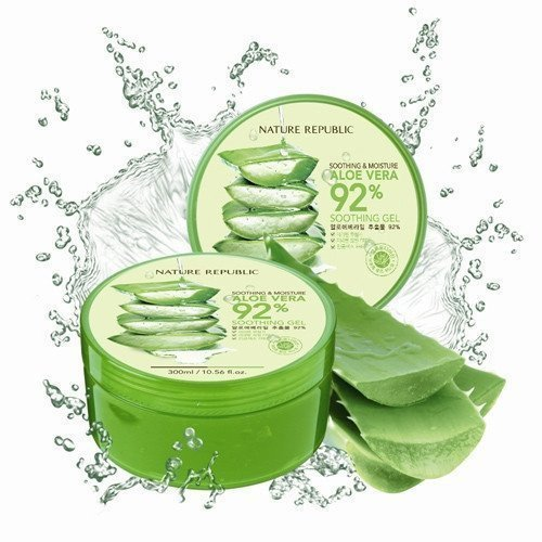 Nature Republic -  Soothing & Moisture Aloe Vera 92% Soothing Gel 300ml
