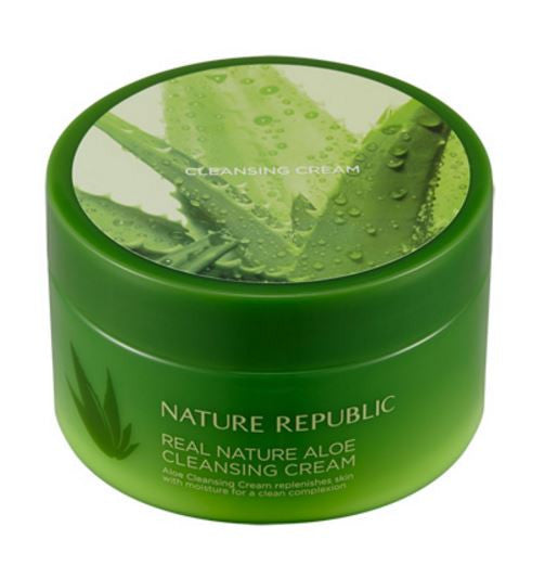 Nature Republic – Real Nature Aloe Cleansing Cream 200ml