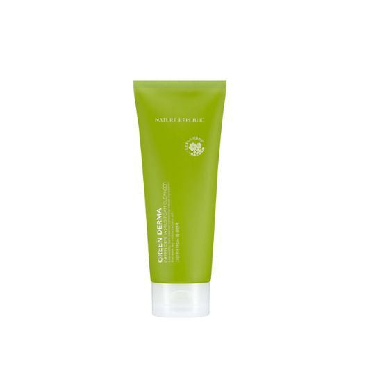 Nature Republic - Green Derma Mild Foam Cleanser 150ml