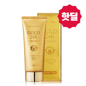 Tony Moly - Luxury Gem Gold 24K Mask 100ml