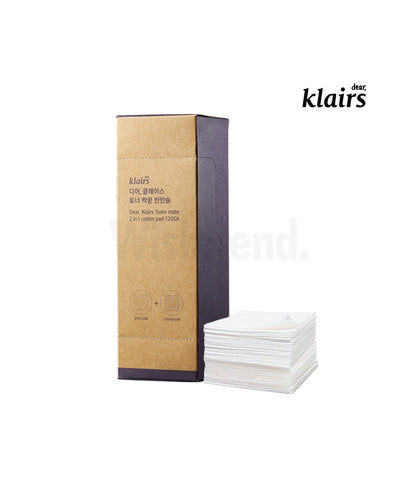 Klairs - Toner Mate 2-In-1 Cotton Pad - 120Li