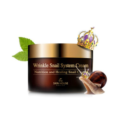 The Skin House - Wrinkle Snail System Cream Nutrition Healing Snail Cream 100ml