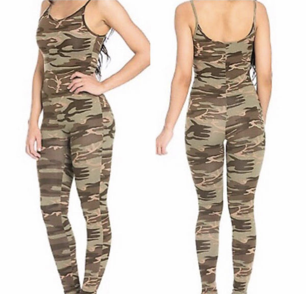 Camo Jumpsuit - She By Anna