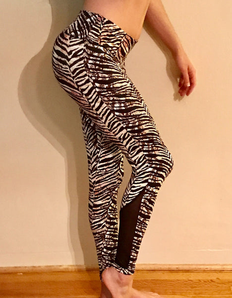 Zebra Leggings - She By Anna