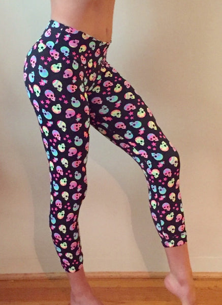 Hippie Skulls Leggings - She By Anna