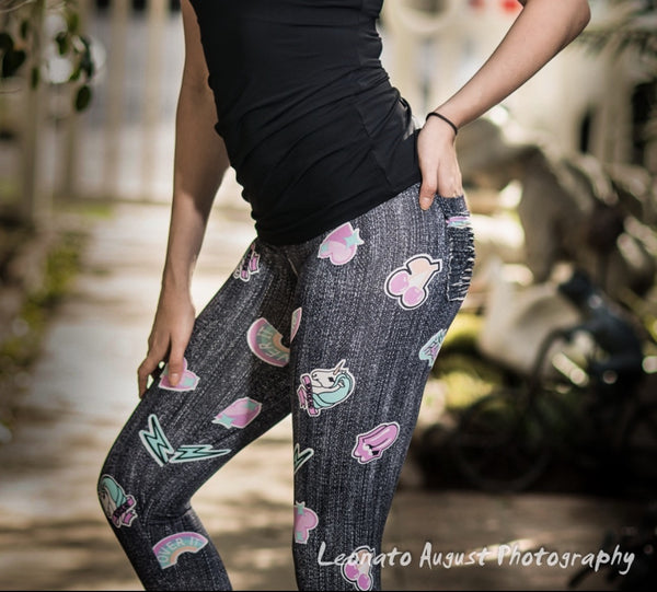 Stickers Leggings - She By Anna