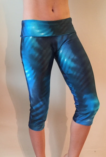 Ombre Turquoise Leggings - She By Anna