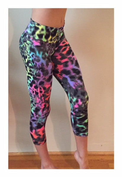 Vibrant Leopard Leggings - She By Anna