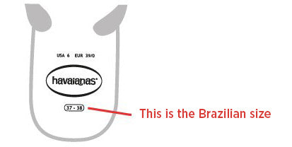 This is the Brazilian size
