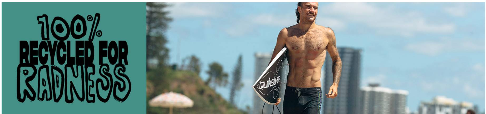 Quiksilver - 100% Recycled Radness boardshorts