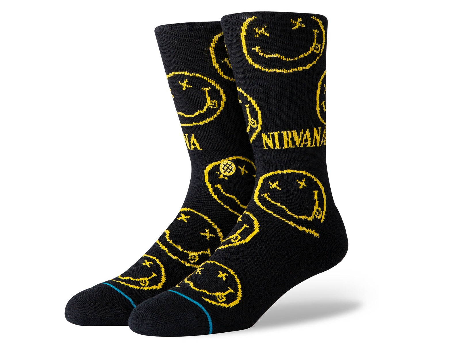 Nirvana Face Socks