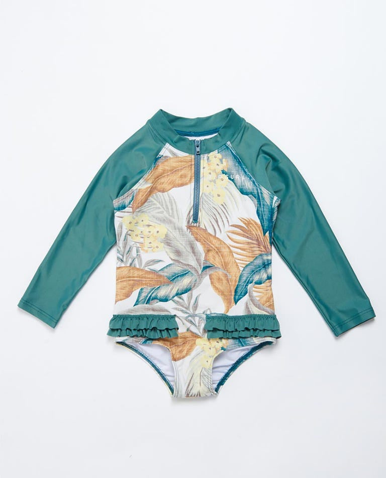 Girls 0-6 Tropic LS Surfsuit