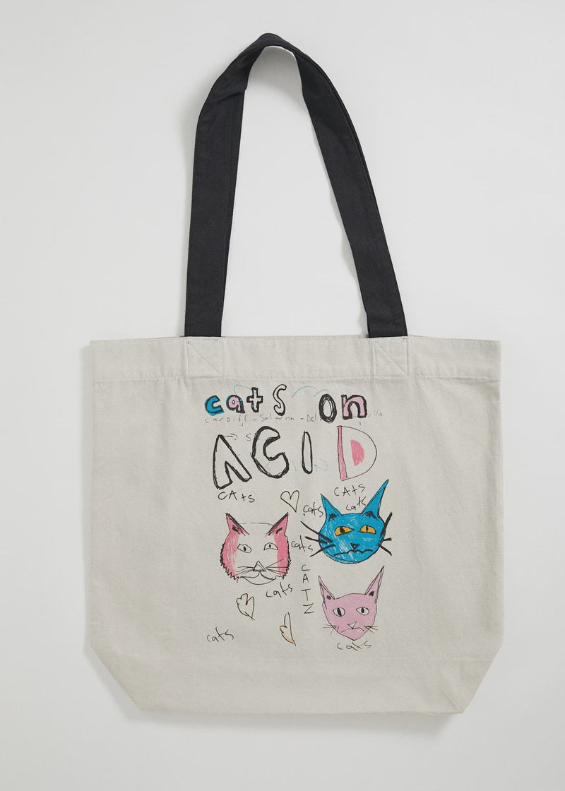 Cats On Acid - Tote Bag