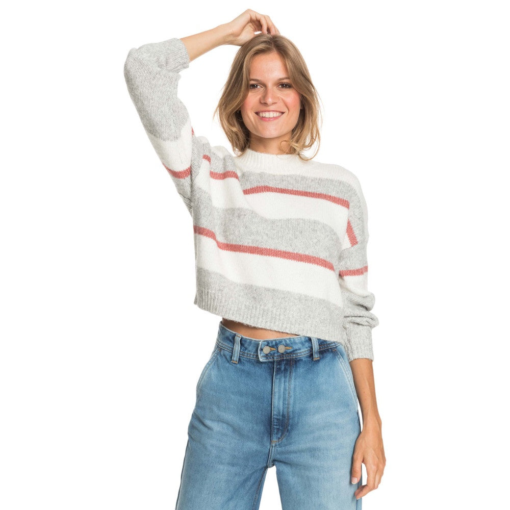 Blurred Memories Cropped Knit Jumper
