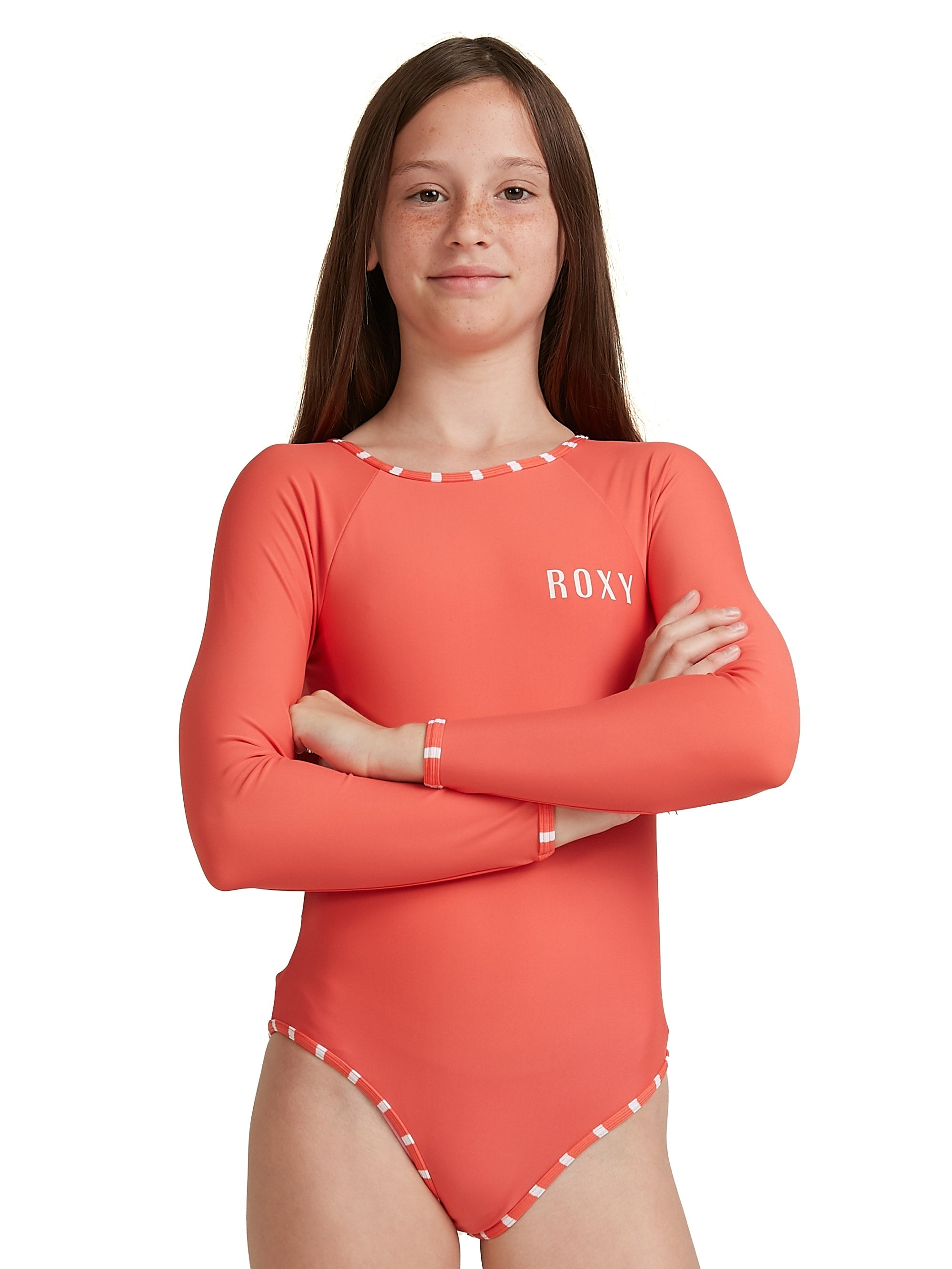 Kinda Savage Long Sleeve One Piece Rashguard