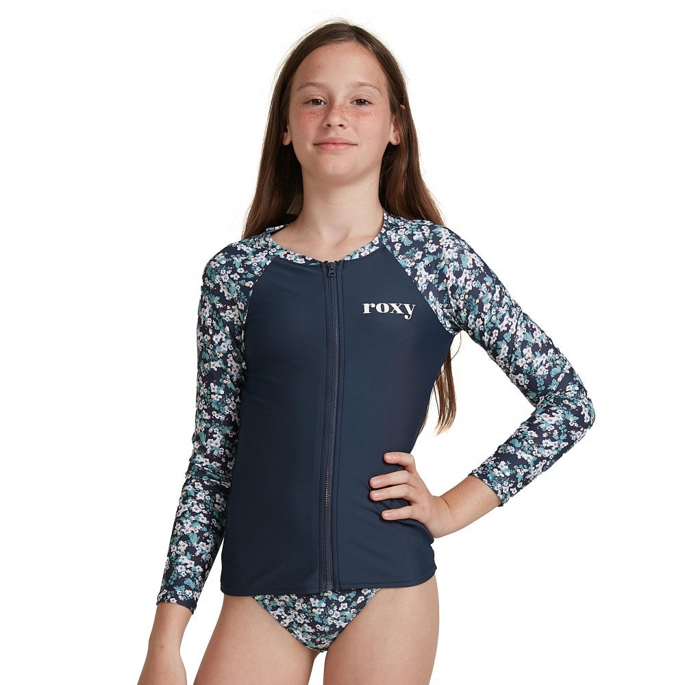 Girls Your Magic LS Zip Lycra