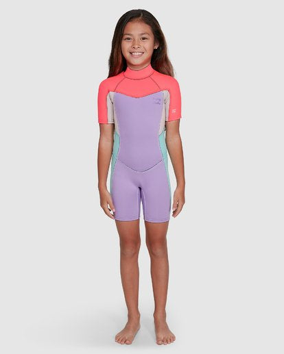 202 Toddler Synergy FL Back Zip Springsuit