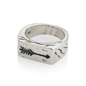 Mens Arrow Ring