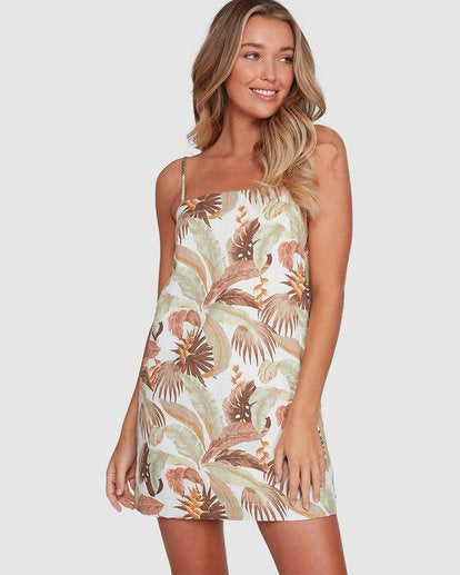 El Tropical Sunset Dress