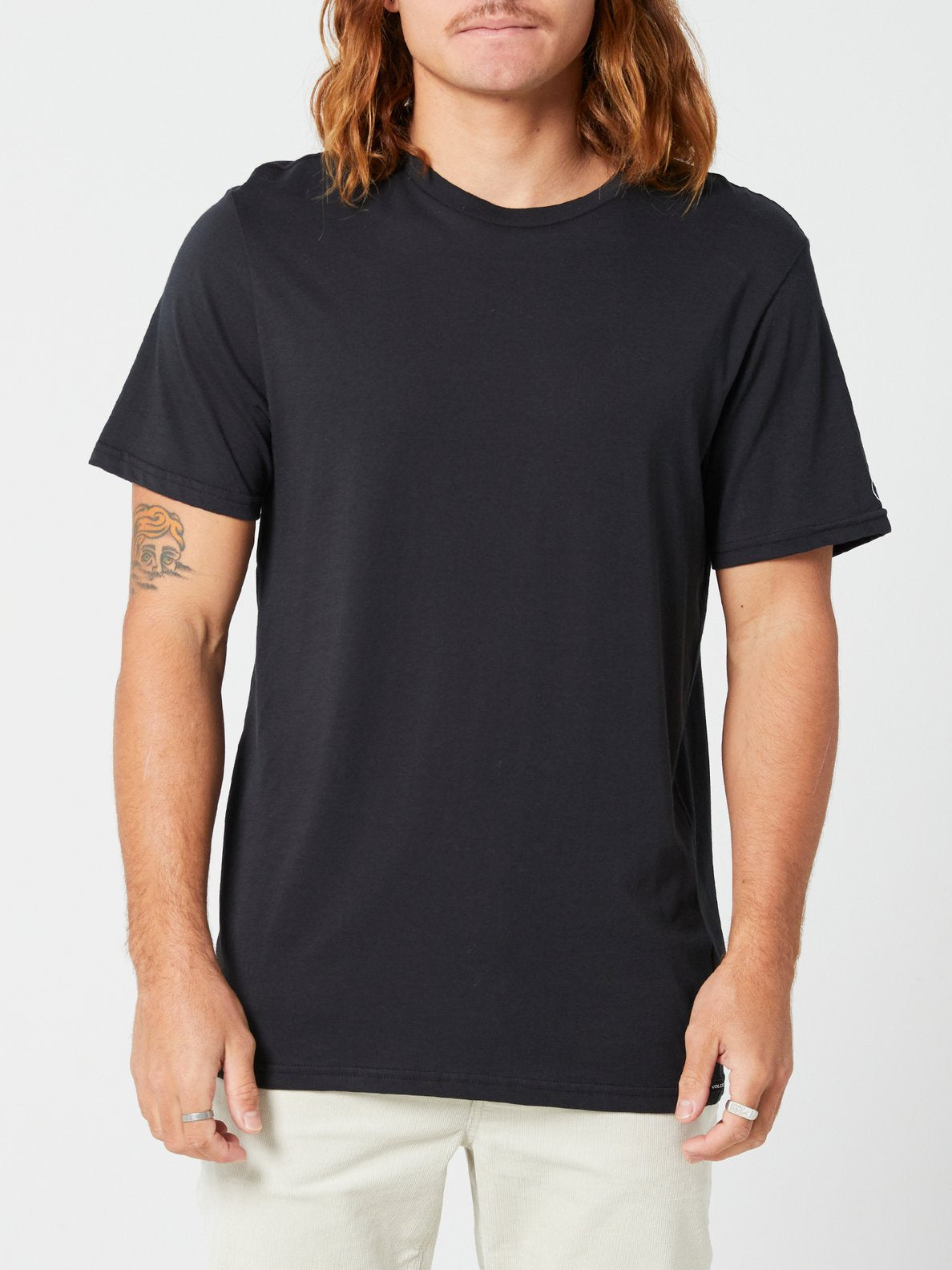 Solid Short Sleeve Tee